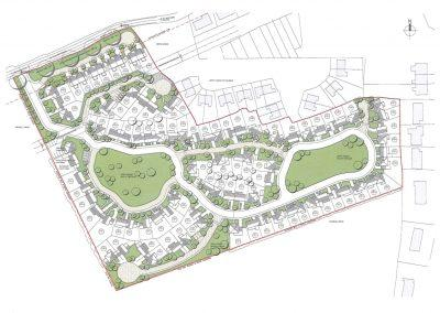 Housing Development – 96 units, Ballymore Eustace, Co. Kildare