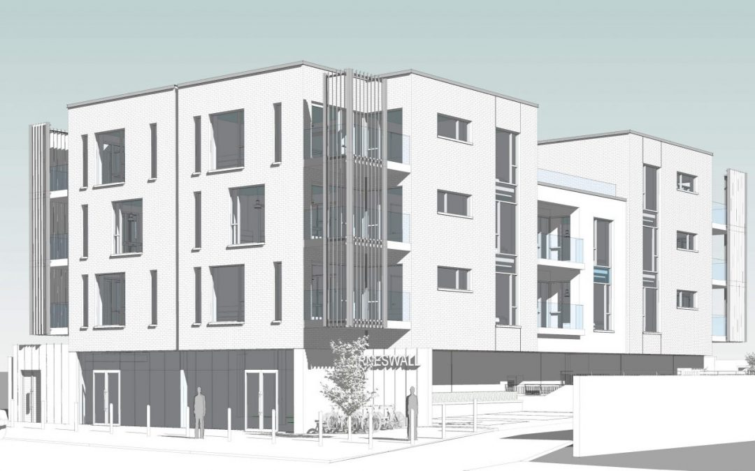 New mixed use development on Drimnagh Road