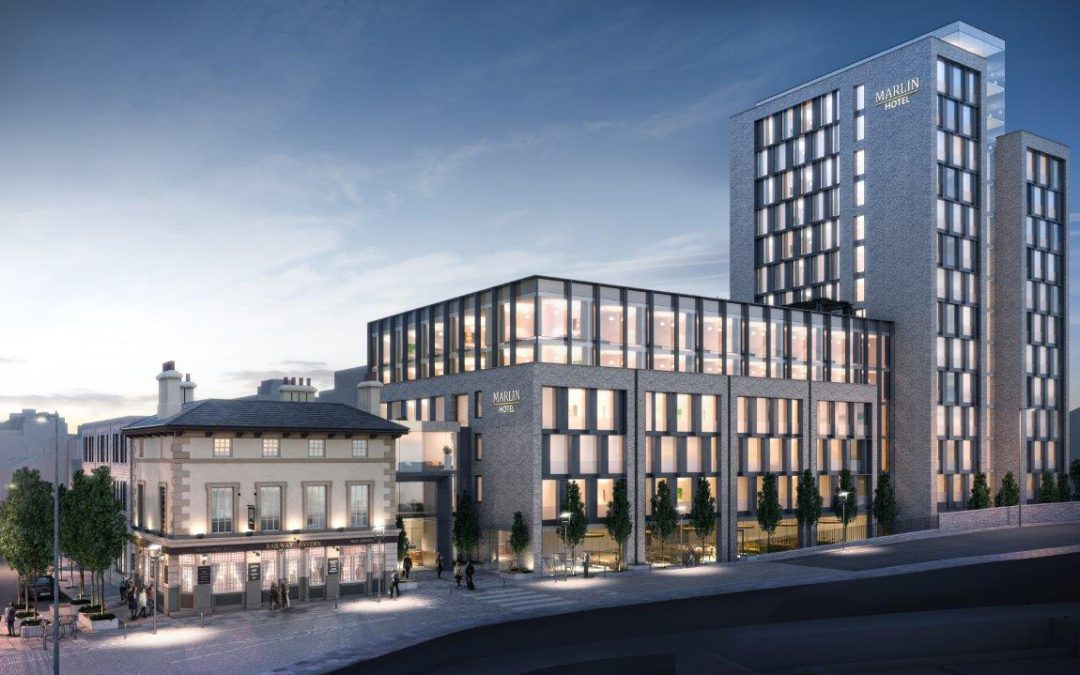 Cantrell & Crowley Architects submit planning application for new 430 bedroom hotel in London