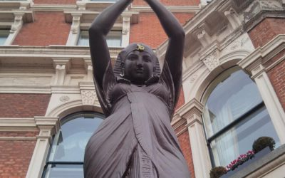 The Shelbourne Hotel will reinstall four statues which had been removed earlier this year from the front of the iconic building.